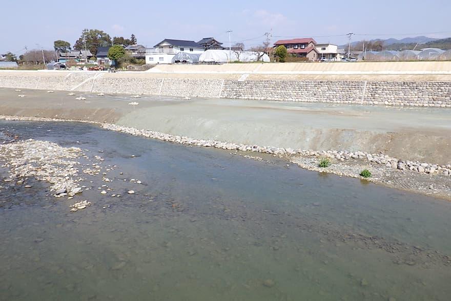 八女市星野川 災害復旧下流24工区