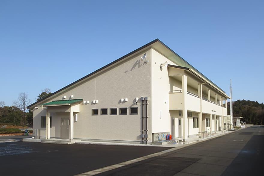 八女東部スポーツ公園 クラブハウス