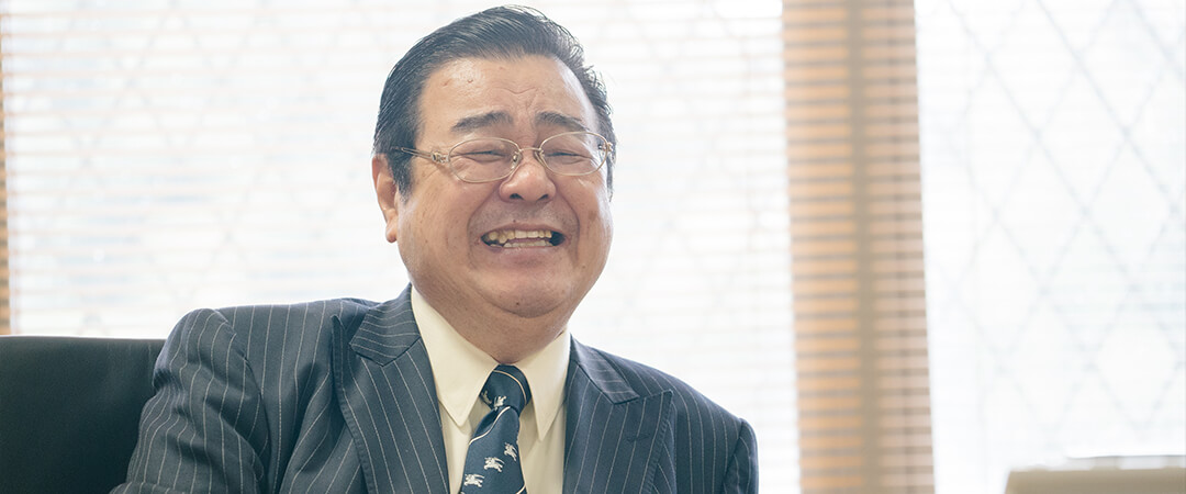松尾宗敏理事長