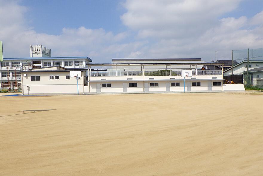 八女市立福島中学校 プール